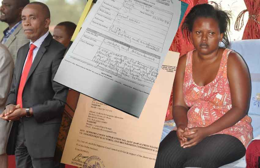 House girl sues Senator Wamatangi, demands Sh75, 000 child upkeep