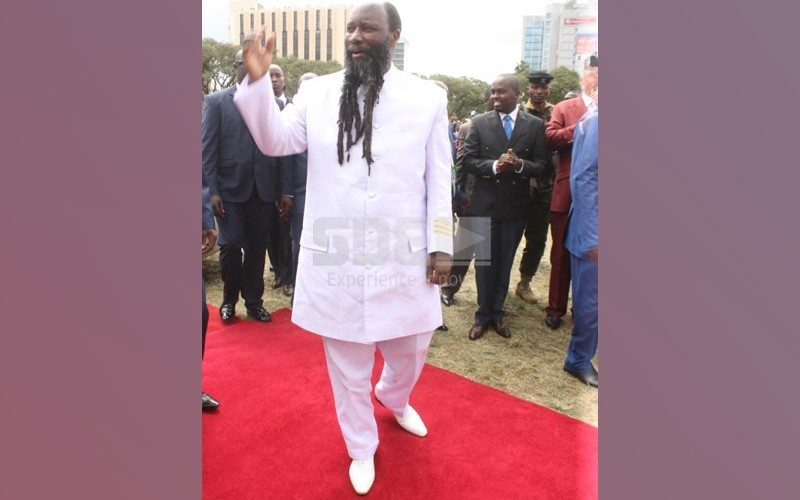 I went to heaven and anointed Jesus' seat- Prophet Owuor