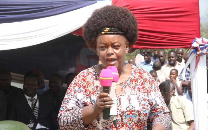 I will take care of my husband's mpango wa kando children- MP Millie Odhiambo