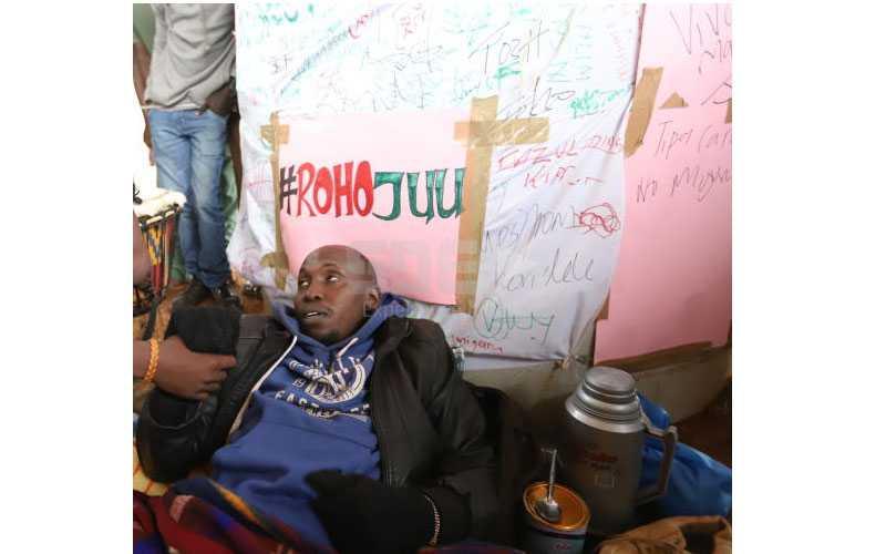 I'm not eating! Miguna activist promises another strike