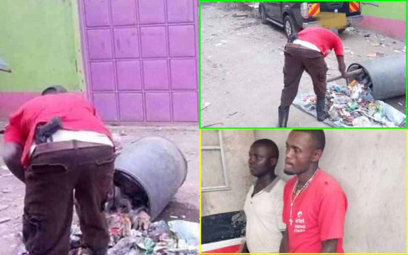 It was a toy gun, I was just joking - Garbage collector seen with weapon