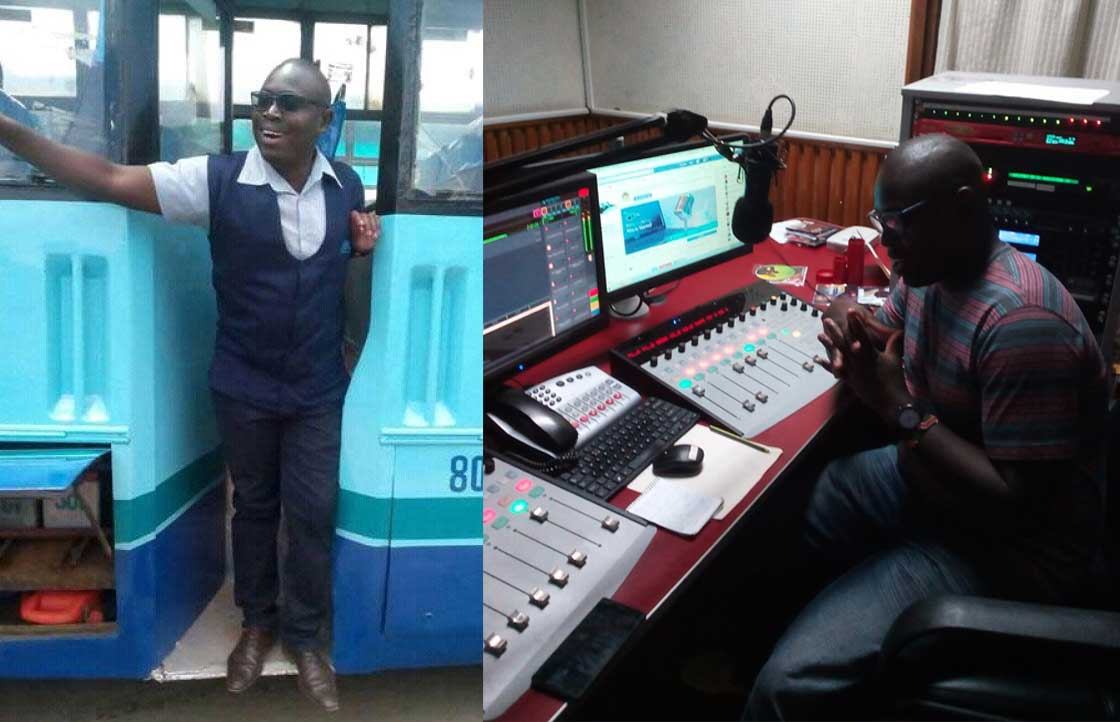 Meet the journalist who is also a bus conductor