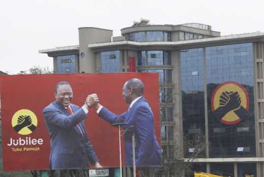 Jubilee Party learns from Chinese