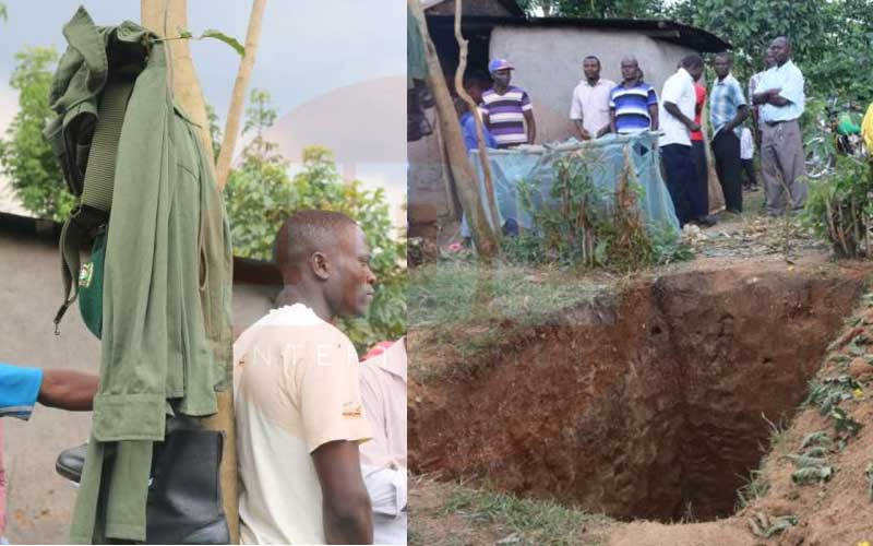 Kakamega County staff probed for exhuming body to retrieve uniform