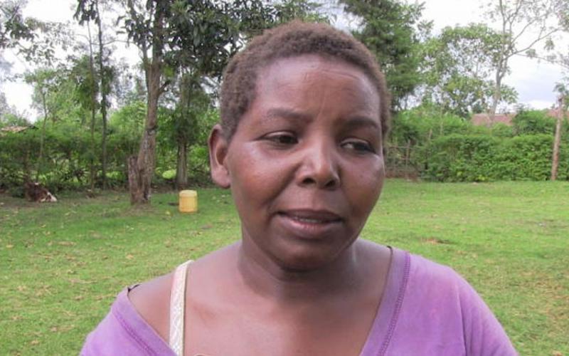 Kericho woman speaks, denies affair with murdered man