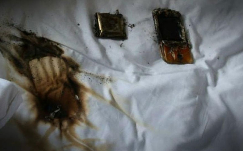 Kibera man in ICU after phone explodes while charging in bed