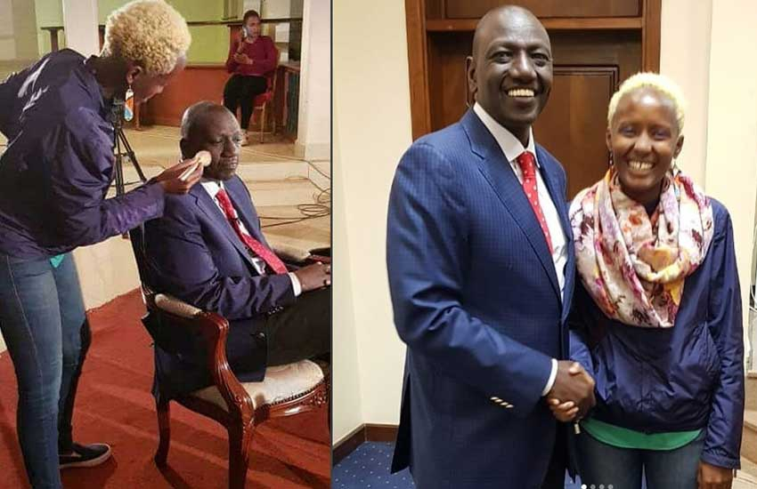 Lipstick for who? Day DP Ruto refused to use lip balm