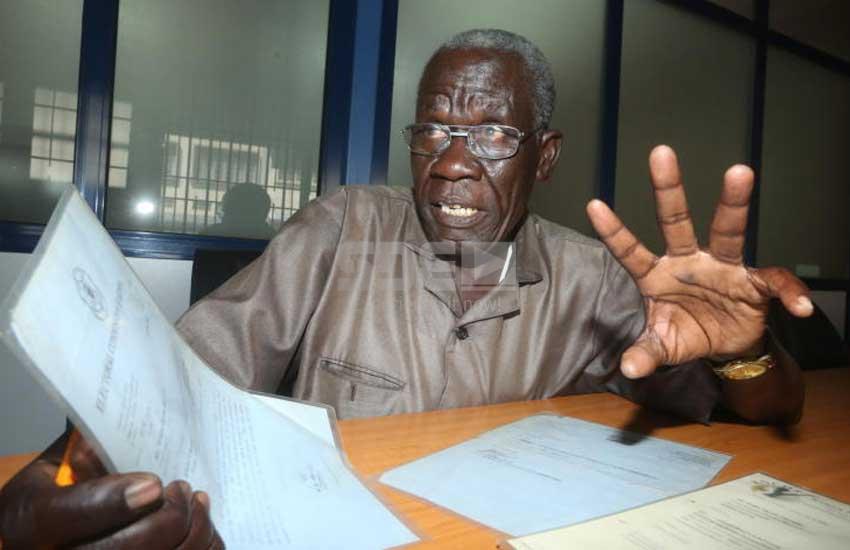 Man petitions parliament, demands monthly cut from legislator's salaries
