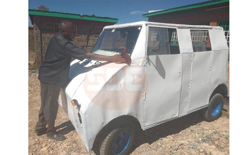 Meet Gatonye, the Laikipia inventor of home-made tuk tuks