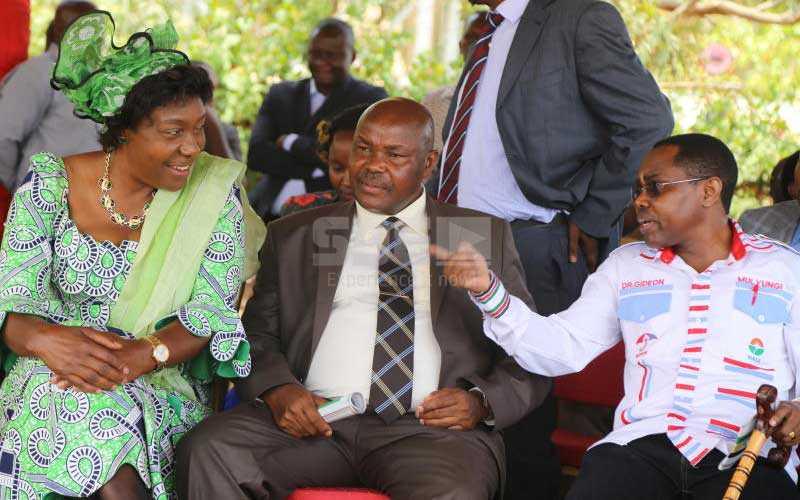 Mwingi Central MP Gideon Mulyungi threatens to 'work on' Governor Ngilu