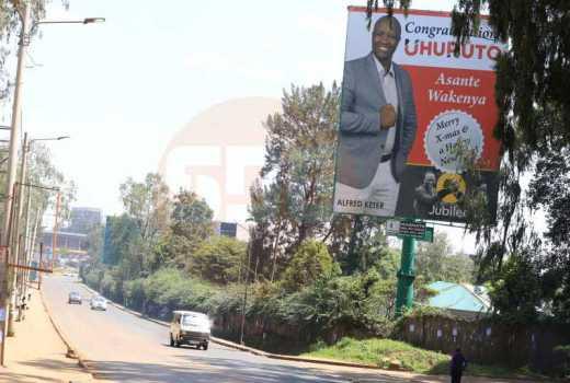 Nandi Hills MP 'burns' millions to wish Nairobians Merry Christmas