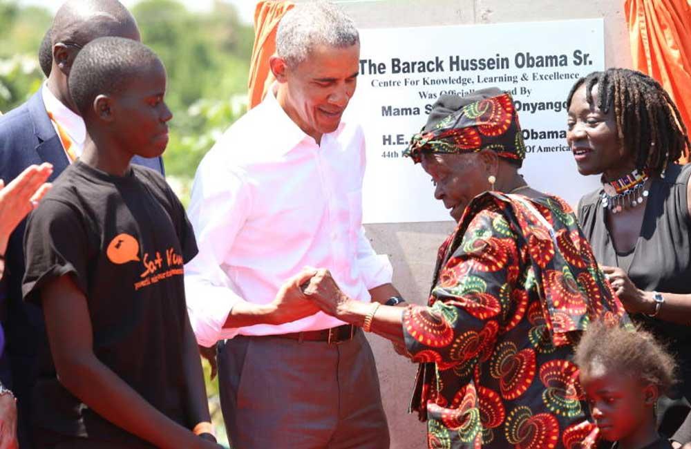 Obama had Mama Oliech's tilapia, ugali