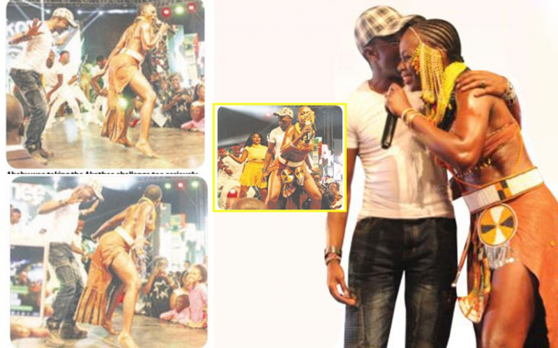 PHOTOS: Ababu's moment of glory at Akothee's concert