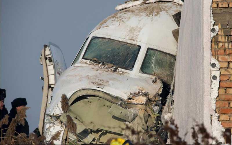 PHOTOS: Passenger plane crashes killing at least 14