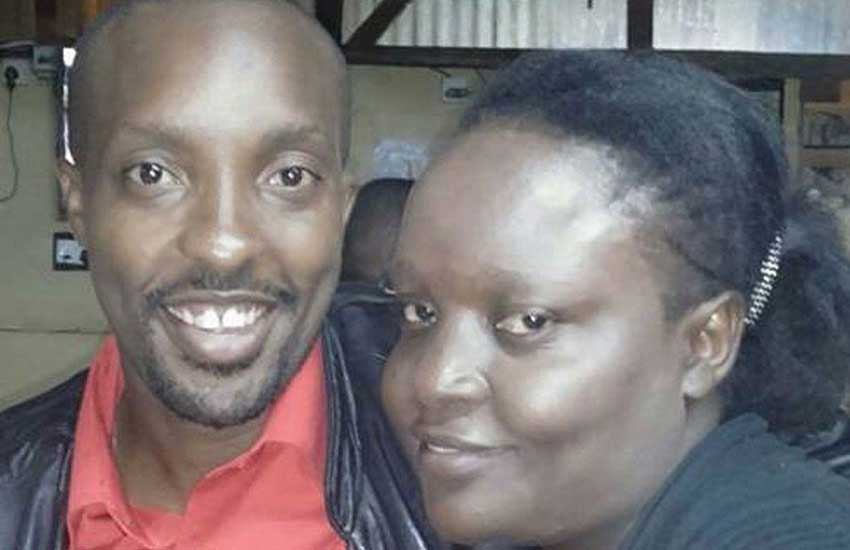 Please support me in giving my wife a befitting burial - Milton Nyakundi pleads