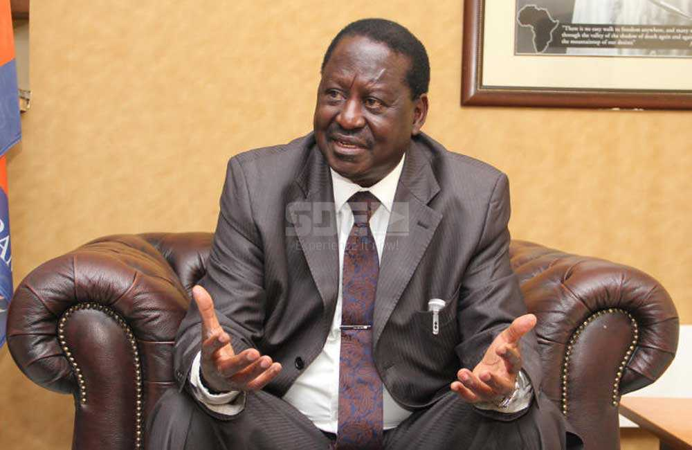 Raila finally speaks: I know they are coming for me