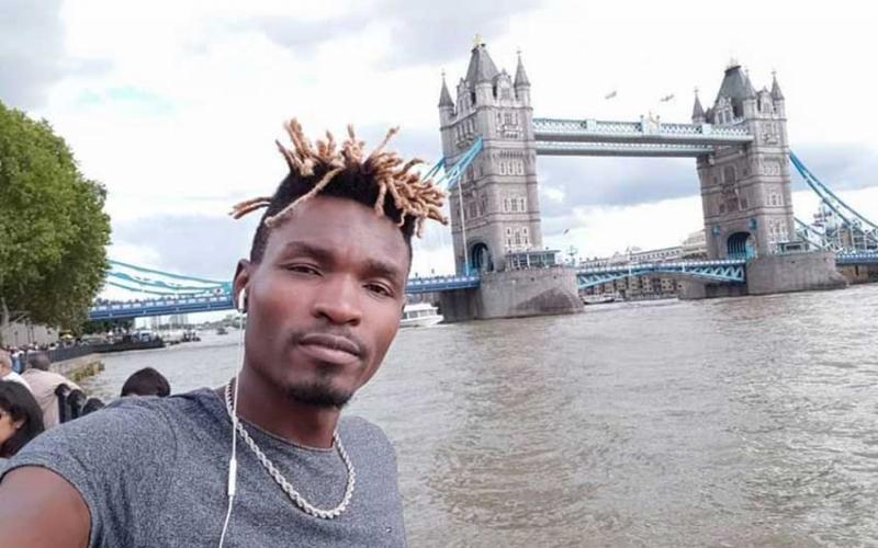 Samson Otieno's moving story makes headlines in the UK