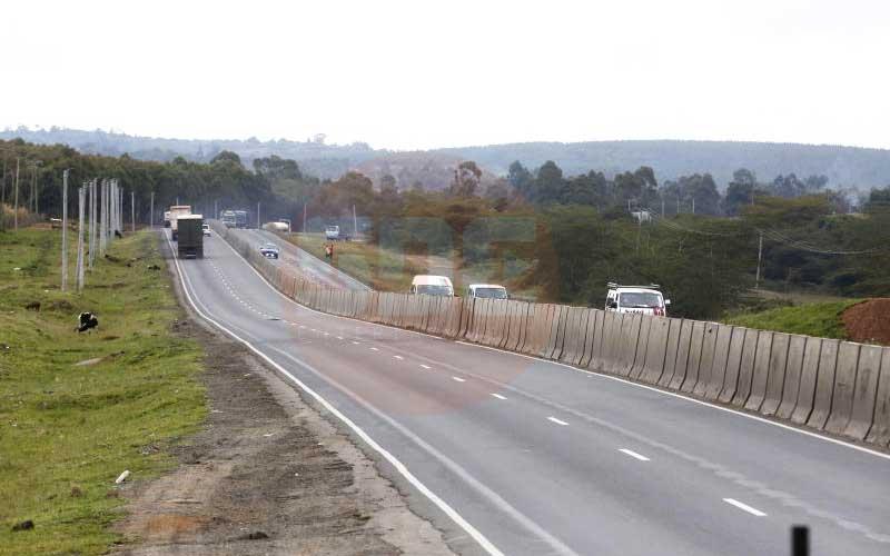 Sh500 million wall cuts accidents at Salgaa- Sachang'wan black spot