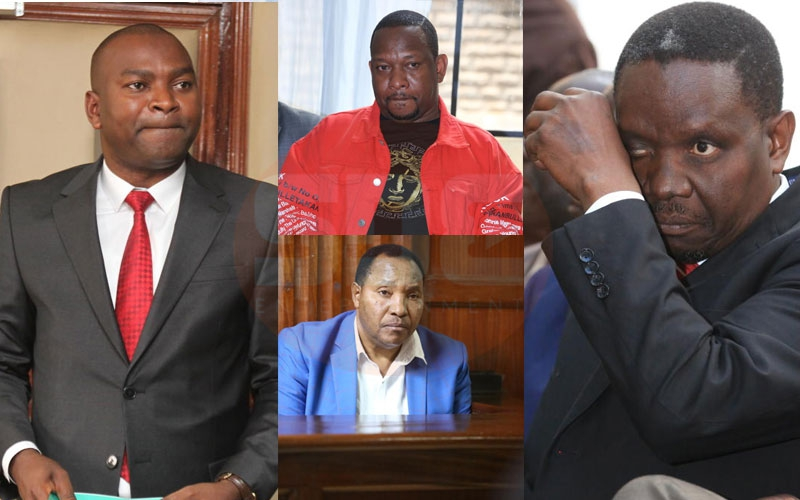 Sonko, Waititu: Six politicians who won't enjoy Christmas