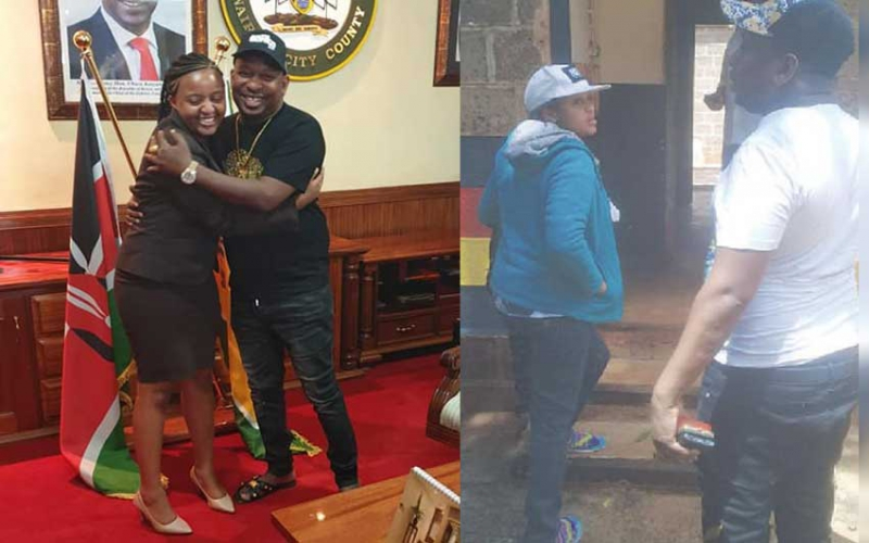 Sonko was arrested with hot student leader who 'appeared pregnant'