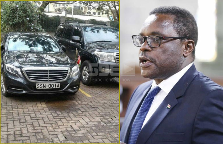 Speaker Ken Lusaka's Benz impounded over Sh7 million debt