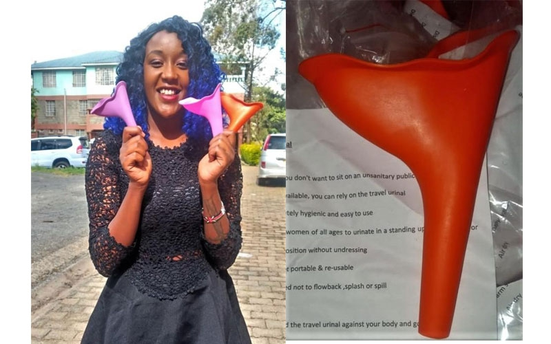 Susu Cup: Invention that helps Kenyan women pee while standing
