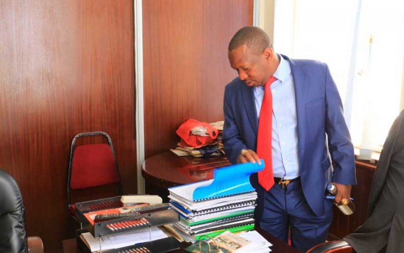 Inside Sonko's Upper Hill command post: Four hours at private office