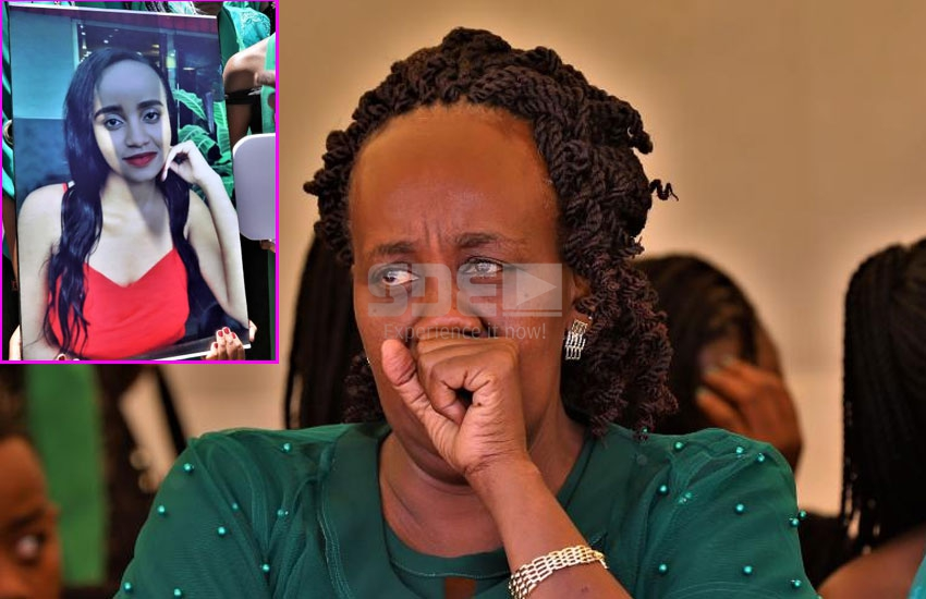 This is what Ivy wangechi's mother said at daughter's funeral