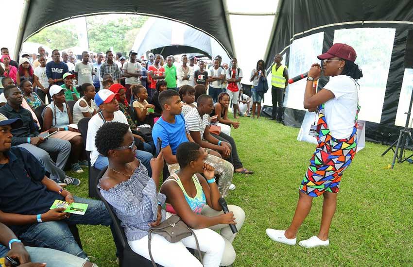 Thousands throng Mombasa Sports Club for Safaricom's Blaze BYOB