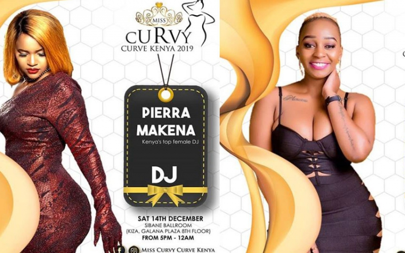 Top stars set for Miss Curvy Curve Kenya
