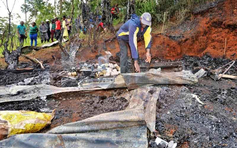 Tragedy: Five kin die in fire on Christmas night