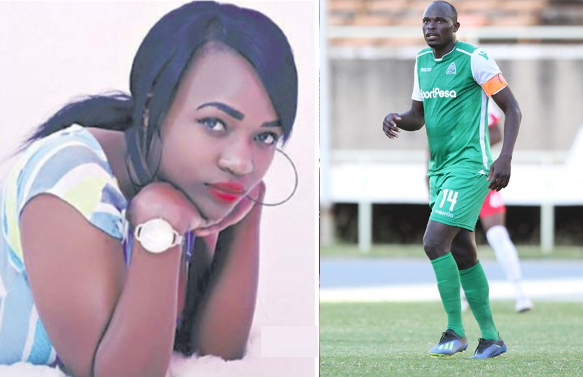 TV girl Paulah Mumia dumps Dennis Oliech