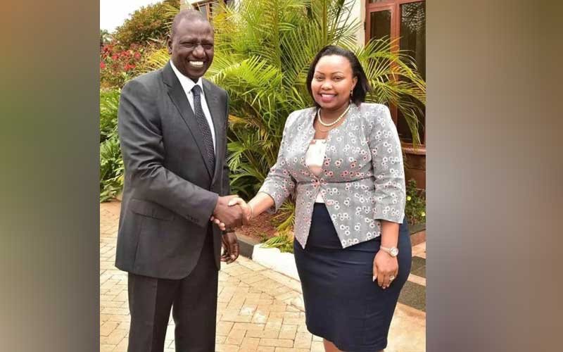 Were it not for Ruto, I would be hawking bedsheets- Senator Millicent Omanga