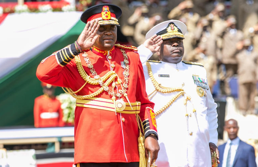 Why President Uhuru Kenyatta went commando