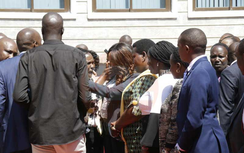 Why Uhuru's security manhandled Nakuru Senator Susan Kihika