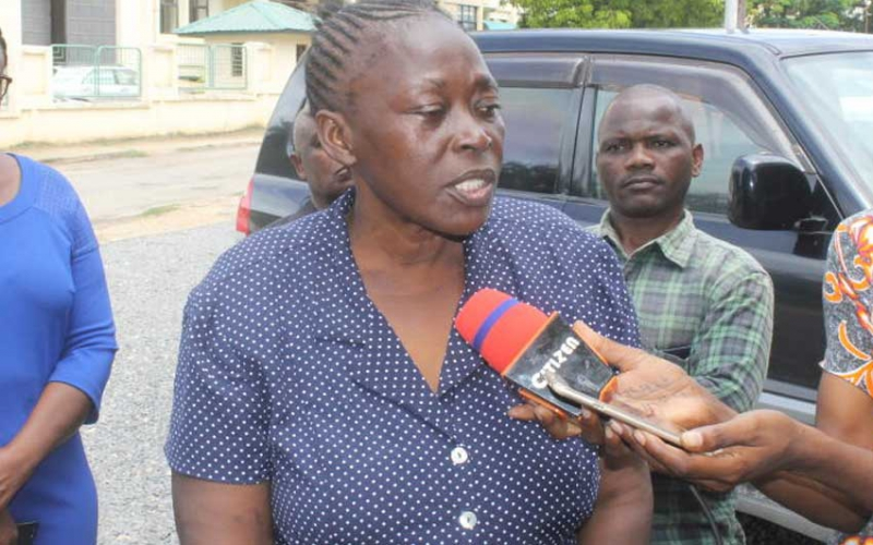 Woman demands exhumation of son's body, says ex stole and buried it