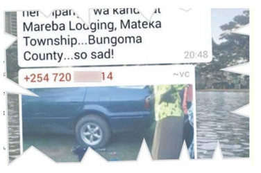 Tragic Bungoma lungula: The lover was in room 4- Boy died in a car as mum was in lodging