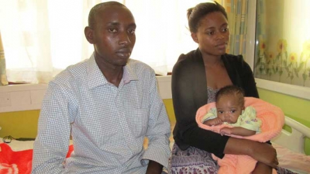 Two-month old baby girl held at Gertrude's Children Hospital over Sh1 million bill