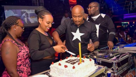 Victoria Kimani makes surprise performance on Crème's birthday