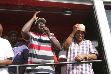Waititu and Nyoro settle for a 'nusu mkate' arrangement in a bid to beat William Kabogo