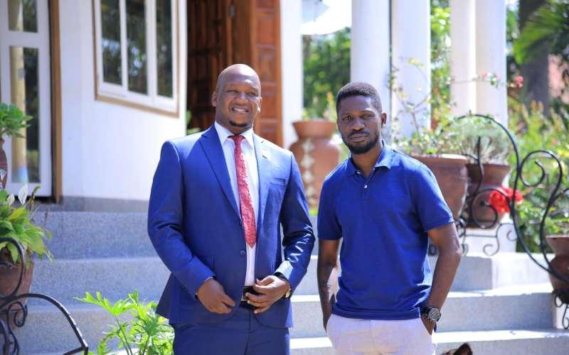 What Bobi Wine discussed with Reffigah in Uganda