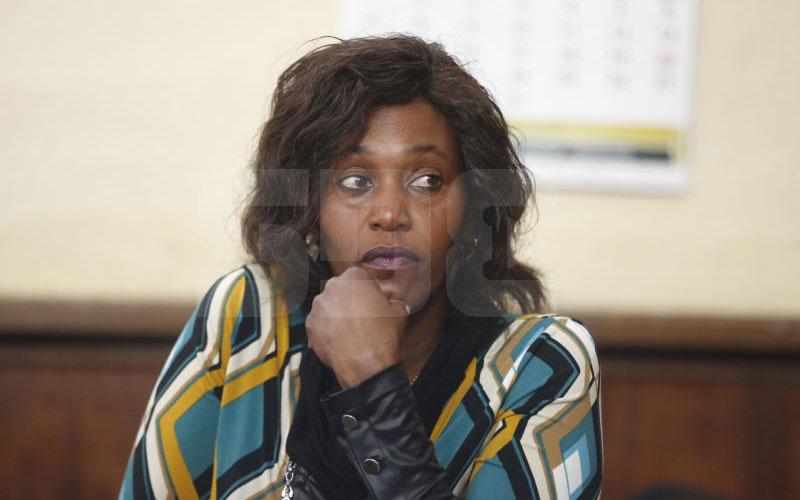 Woman denies killing spouse for Sh10 million loan he had taken