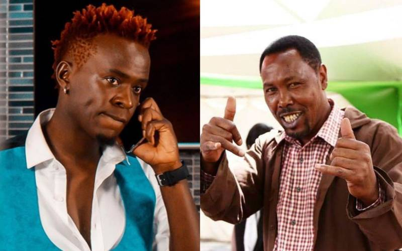 You can sell water or mandazi: Willy Paul's advice to Omosh