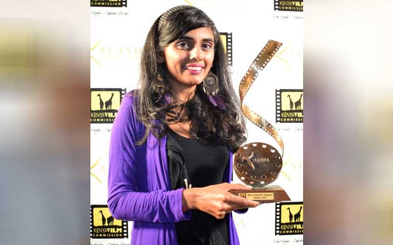 Best production designer Neha Manoj Shah