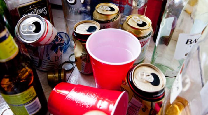 Teenagers arrested in an alcohol and sex party in Homa Bay