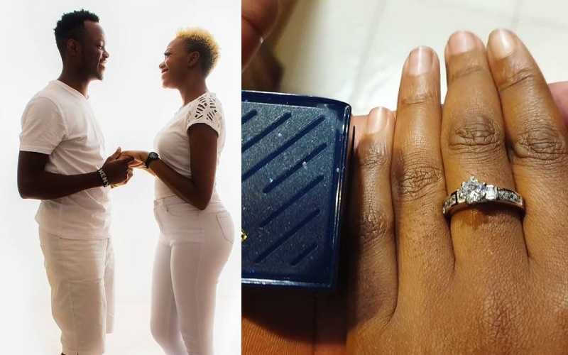 Actress Celestine Gachuhi officially off the market, engaged
