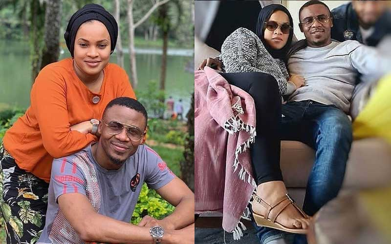 Ali Kiba and his Kenyan wife Amina Khalef mend their relationship