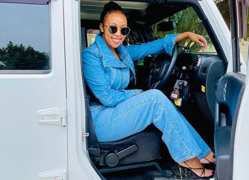 Amber Ray moves out of Syokimau house, flaunts new home on social media