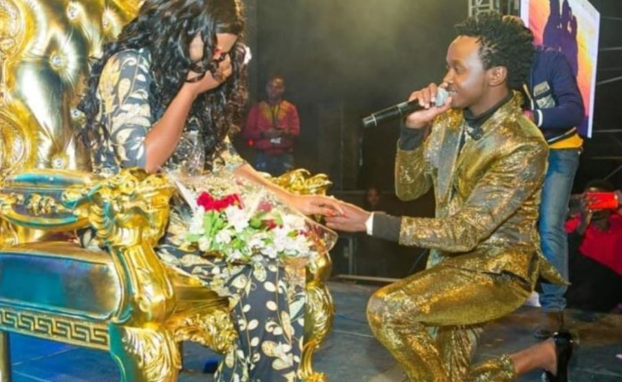 Bahati explains why they haven't done a white wedding yet despite his promise to Diana