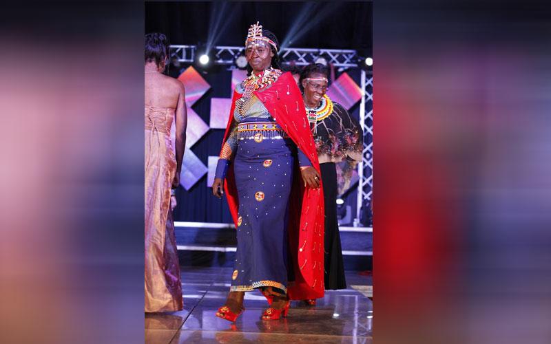 Edna Lenku at Miss Tourism Kenya 2018
